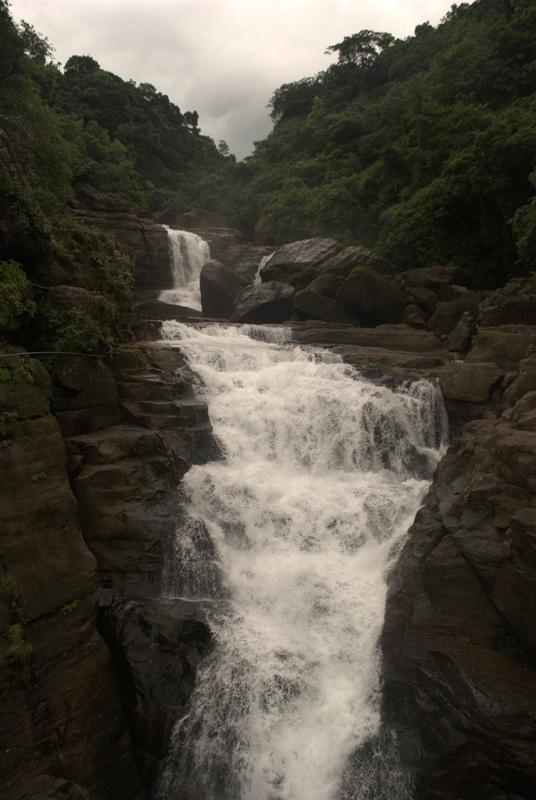 Mawlynnong Waterfall Meghalaya